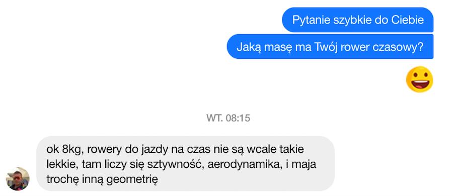Rafał Herman i jego rower, o tym jak optymalizować moc w triathlonie mówi dietetyk sportowy Warszawa